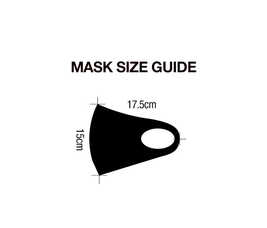 [BSQT] 3D 패턴 페이스 비말방지 마스크